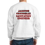 Dad's Sanitation Engineer Sweatshirt