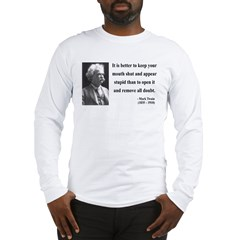 Mark Twain 41 Long Sleeve T-Shirt