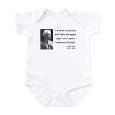 Mark Twain 41 Infant Bodysuit