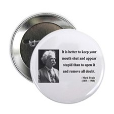 "Mark Twain 41 2.25"" Button"