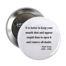 "Mark Twain 41 2.25"" Button (10 pack)"
