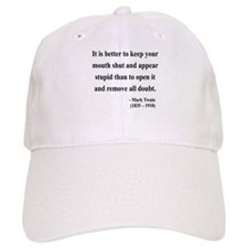 Mark Twain 41 Baseball Cap