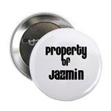 "Property of Jazmin 2.25"" Button (10 pack)"