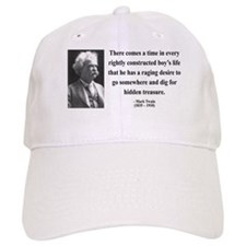 Mark Twain 43 Baseball Cap