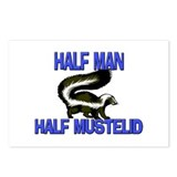 Half Man Half Mustelid Postcards (Package of 8)