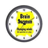 Brain Surgeon Wall Clock