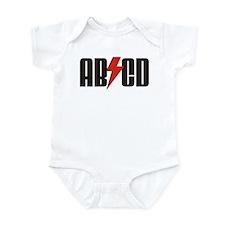 ABCD Rocker Baby Onesie