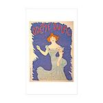 Odette Dulac Rectangle Sticker 50 pk)