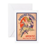 Quinquina Dubonnet Greeting Card
