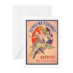 Quinquina Dubonnet Greeting Card