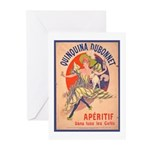Quinquina Dubonnet Greeting Cards (Pk of 20)
