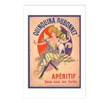 Quinquina Dubonnet Postcards (Package of 8)