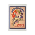 Quinquina Dubonnet Rectangle Magnet (10 pack)