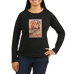 Quinquina Dubonnet Women's Long Sleeve Dark T-Shir