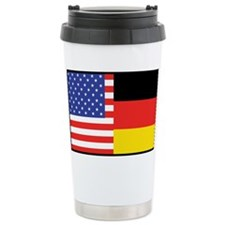 USA/Germany Ceramic Travel Mug