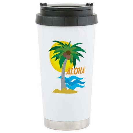 Aloha Ceramic Travel Mug