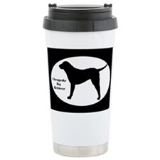 Chesapeake Retriever Silhouette Ceramic Travel Mug