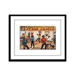 Jesse James Framed Panel Print