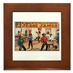 Jesse James Framed Tile