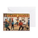 Jesse James Greeting Card