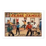 Jesse James Postcards (Package of 8)