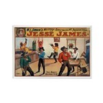 Jesse James Rectangle Magnet