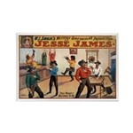 Jesse James Rectangle Magnet (10 pack)