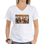 Jesse James Women's V-Neck T-Shirt