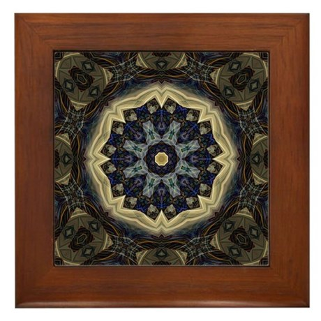 Elemental Mystique Framed Tile