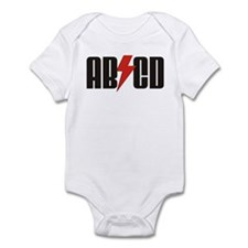 ABCD Rocker Baby Infant Bodysuit