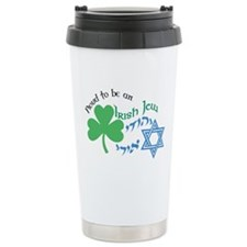 Proud Irish Jew Ceramic Travel Mug