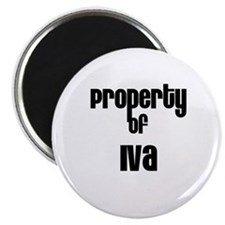 "Property of Iva 2.25"" Magnet (10 pack)"