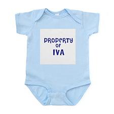 Property of Iva Infant Creeper