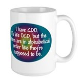OCD / CDO spectrum Coffee Mug