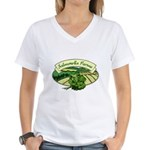 Salmonella Farms - Cilantro Women's V-Neck T-Shirt