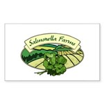 Salmonella Farms - Cilantro Rectangle Sticker 10
