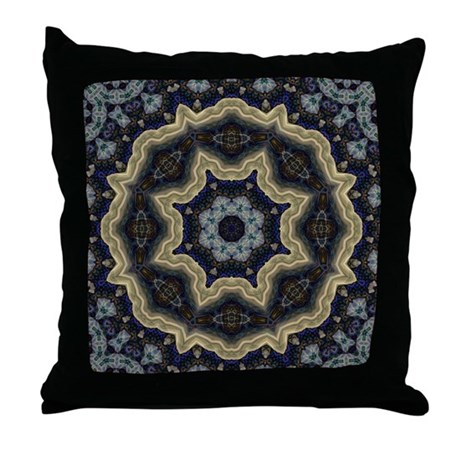 Elemental Mystique Throw Pillow