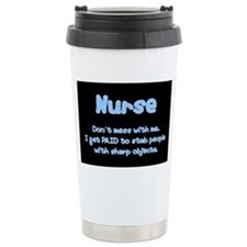 Don't mess with me! Ceramic Travel Mug