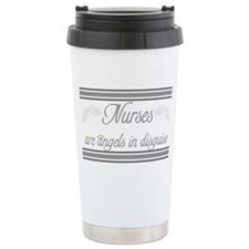 Angels In Disguise Ceramic Travel Mug