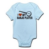 I Love My Banjo Player Onesie