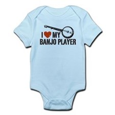 I Love My Banjo Player Infant Bodysuit