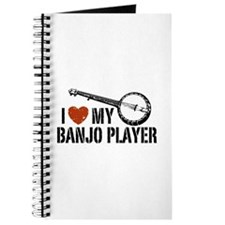 I Love My Banjo Player Journal