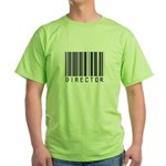 Director Barcode Green T-Shirt