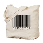 Director Barcode Tote Bag