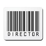 Director Barcode Mousepad