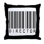 Director Barcode Throw Pillow