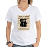 The James Gang Women's V-Neck T-Shirt