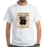 The James Gang White T-Shirt