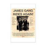 The James Gang Mini Poster Print