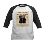 The James Gang Kids Baseball Jersey